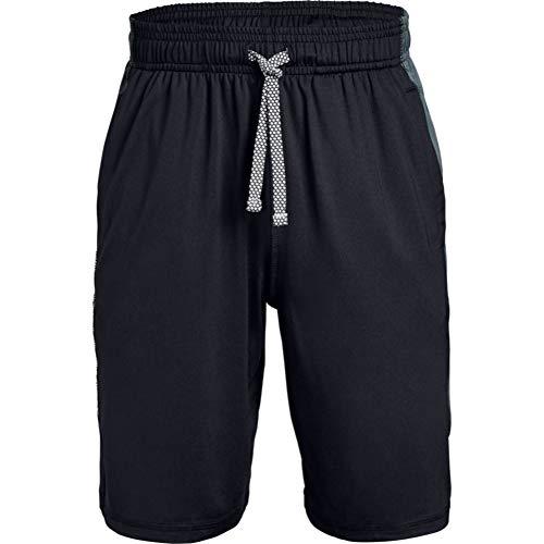 Under Armour Jungen Kurze Hose Raid Shorts, Schwarz, YLG, 1345723-001