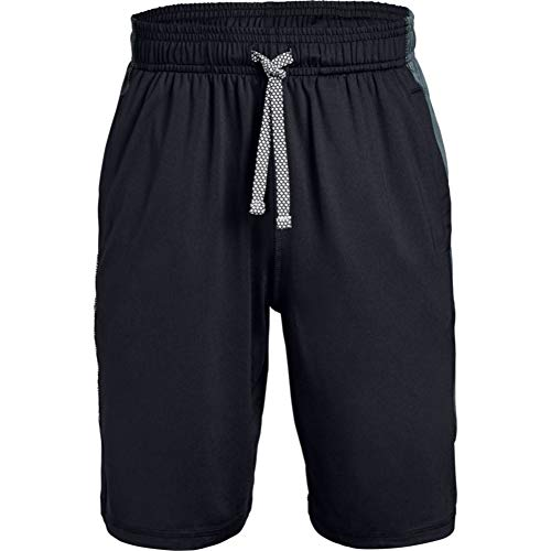 Under Armour - Fitness-Shorts für Jungen in Schwarz, Größe XL