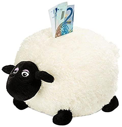 Nici 33339 - Shirley hucha de peluche, diseño de oveja