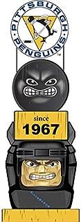 Team Sports America Pittsburgh Penguins Vintage NHL Tiki Totem Statue