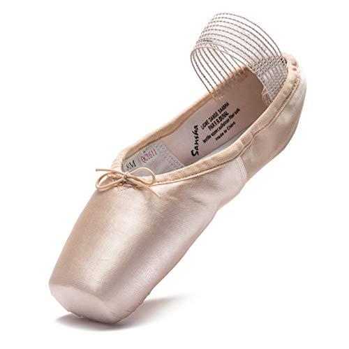 Sansha Ballett Spitzenschuh Récital Hellrosa, 8 M (EU38)