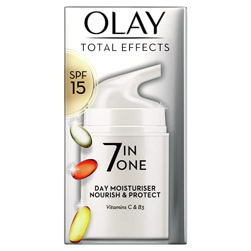 Olay Total Effects Anti-Ageing Day Moisturiser with SPF 15, 50ml