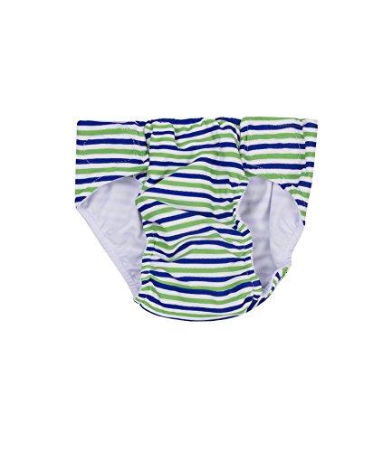 Steiff Collection Jungen Badehose Schwimmwindel 6837730, Mehrfarbig (y/d Stripe 0001), 80