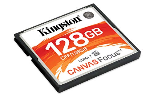 Kingston Canvas Focus 128GB Compact flash Speicherkarte