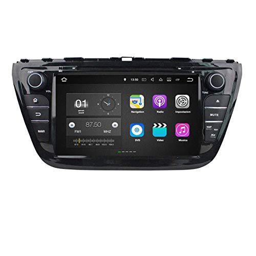 Android 7.1 Autoradio Navigazione GPS per Suzuki SX4 S-Cross(2014-2020), 8 Pollici Touchscreen Lettore DVD Radio Bluetooth