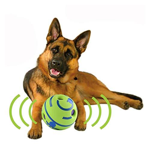 CML Juguetes masticables para perros Juguete para perros Divertidos Sonidos Bola Mascota Gato Juguetes para perros Juguete interactivo Juguete de entrenamiento para perros pequeños y grandes