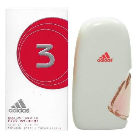 Adidas 3 For Women EDT Eau de Toilette 50 ml Spray