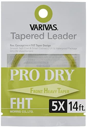 VARIVAS(バリバス) ハリス テーパードリーダー プロドライ FHT 14ft 5X TL-45