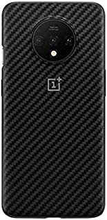 For OnePlus 7T Karbon Bumper Case Shock Absorbent Slim Design Protective Cover Four Corners Thickened - Carbon Fiber Texture
