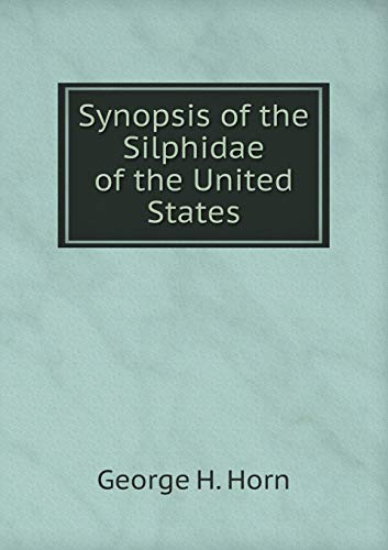 Synopsis of the Silphidae of the United States