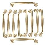 10 barras de arco, para cocina, armario, puerta, tirador, cajón, dormitorio, muebles, distancia del agujero 128 mm
