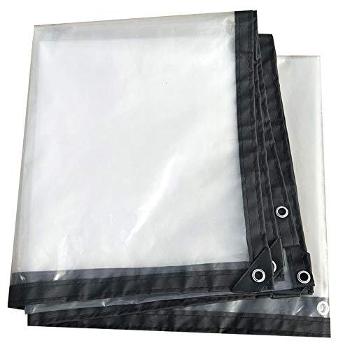Idwoi dekzeil voor ramen, waterdicht, transparant, winddicht, isolatie van kunststof