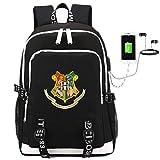 Comtervi Harry Rucksack Hogwarts Rucksack, Daypacks Laptoptasche Schulrucksack, Unisex Junge Camping...