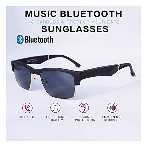 Botgeleiding Bluetooth Bril Slimme Bril Gebruikt Voor Bluetooth-oproep Speel Muziek Gebruikt Voor Een Auto Rijden Beweging Fitness Kan Worden Uitgerust Met Een Anti-blauwe Lens, Gold