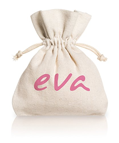 Eva – Kit S+L mit 2 Super-Soft Menstruationstassen + Desinfektionsspray – 2 Farben – MADE IN ITALY (Rose) - 5