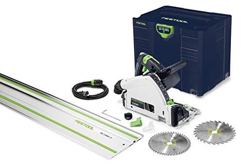 Festool Emerald Edition TS 55 REQ Plunge Cut Circular Saw w/Guide Rail (576688)