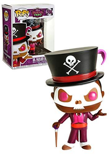 Exclusivo Disney: La princesa y la rana - Dr. Facilier (enmascarado) Funko Pop!