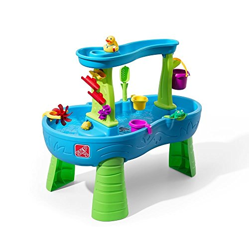 Step2 Rain Showers Splash Pond iYKwZa Water Table Playset, 2 Units