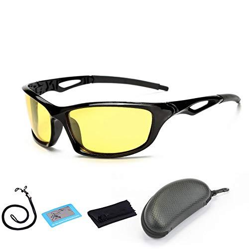 FUZHISI Gafas de Sol Pesca polarizada Gafas de Sol Hombres Mujeres Gafas de Pesca Camping Senderismo Conducción Bicicleta Gafas Deporte Ciclismo Gafas