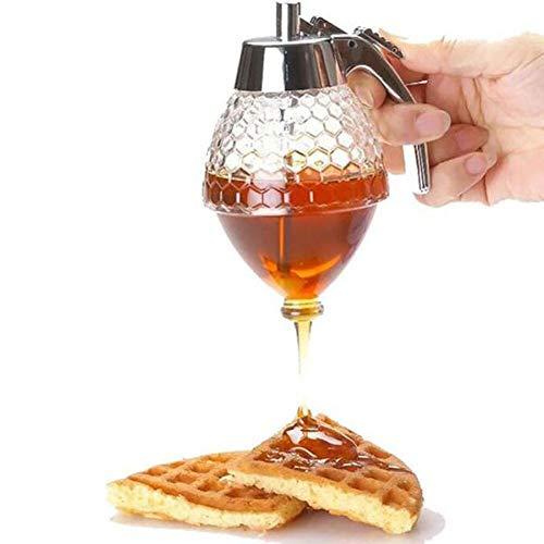 Acryl taaie honing pannenkoek Batter Dispenser siroop Dispenser saus keuken opslag pot koken gereedschap