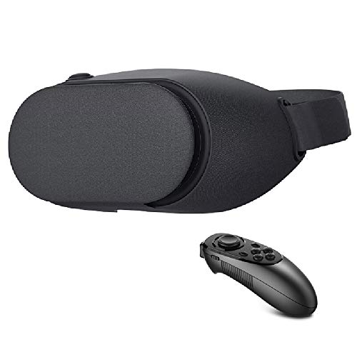 Lowest Prices! D Virtual Reality 3D Glasses Headset with Controller for 4.7-5.7 Phone New 3D VR Head...