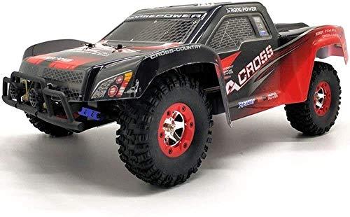 SXLCKJ Coche RC Coche de Alta Velocidad 4x4 a Control Remoto 50 km/h Profesional 4WD Off Road RC Coche de Rally Escala 1:12 Grande 2.4GHz Eléctrico (Coche Inteligente)