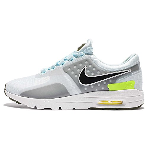 Nike Women Air Max Zero Si (glacier blue / black-legion green-white) Tama?o 7.0 US