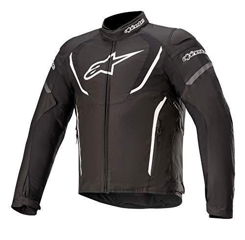Alpinestars Motorradjacken T-jaws V3 Waterproof Jacket Black White, BLACK/WHITE, M