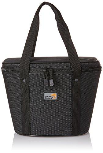 New Looxs Clipper Basic bagagedragertas/boodschappentas, zwart, 35 x 27 x 16 cm
