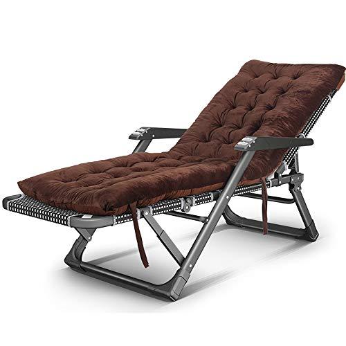 Yan Mei- Silla de playa reclinable al aire libre silla plegable silla reclinable portátil de cuatro estaciones simple universal balcón de ocio silla multifuncional para el hogar, 4 estilos opc