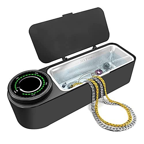 Ultraschallreinigungsgerät Brille 48KHz, 650ml Professioneller Ultraschallreiniger Brille zur Schmuckreinigung mit Timer, Soft Touch, Geräuscharm, Sauberer Schmuck, Diamanten, Uhren