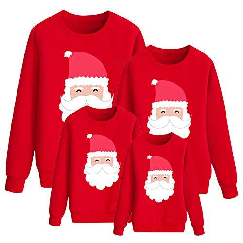 N \ A Sudaderas Navideñas Familiares Sudadera Navidad Familia Jersey Navideño Familiar Jerseys Navideños Mujer Hombre Talla Grande Pullover Jersey Feo Navidad Niño Niña Niños Chica Chico Chris