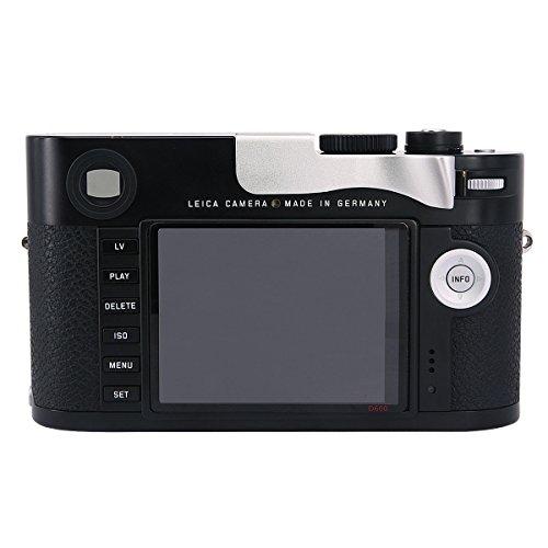 Haoge THB-M24S 親指アップグリップ 銀 サムレスト シルバー 各社カメラ対応 サムグリップ 親指アップグリップ for ライカ Leica M Typ240 M240, M-P Typ 240 M240P, M Typ262 M262, M-