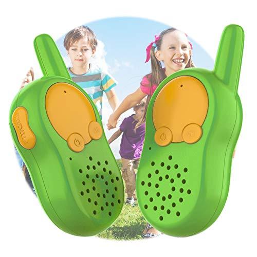 KOMVOX Walkie Talkie Niños Juguete USB Recargable, Walky Talky Niños, Juguetes Niños 3 4 5 6 Años, Juegos Mesa Niños Regalo 3 4 5 6 Años
