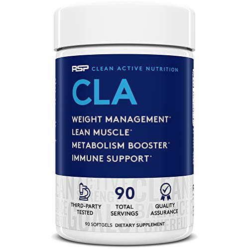 RSP Nutrition CLA Stimulant Free Weight Loss Supplement - 90 Softgels