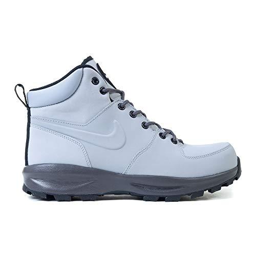 Nike Herren Manoa Leather Traillaufschuhe, Mehrfarbig (Wolf Grey/Thunder Grey-Black 004), 43 EU