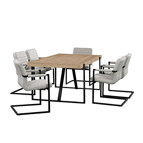 [en.casa] Tavolo da Pranzo Sedia HTGT Variante Z37 Set 1