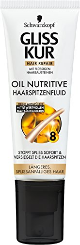 Schwarzkopf Gliss Kur, Haarspitzenfluid Oil Nutritive (1 x 50 ml)