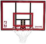 Spalding 44 Inch Polycarbonate Basketball Backboard & Rim Combo