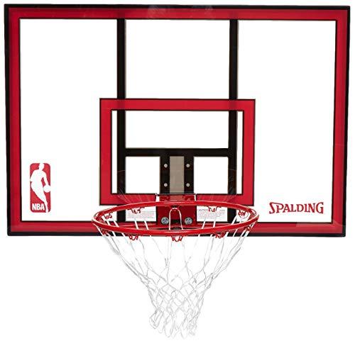 Spalding 79351 Backboard/Rim Combo with 44-Inch PolyCarbonate Backboard