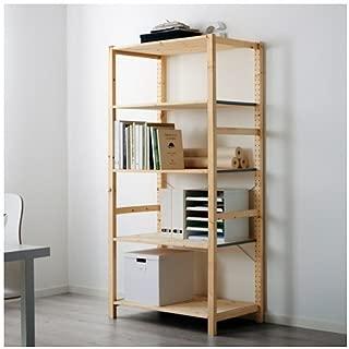 Ikea Shelf unit, pine, 35x19 5/8x70 1/2