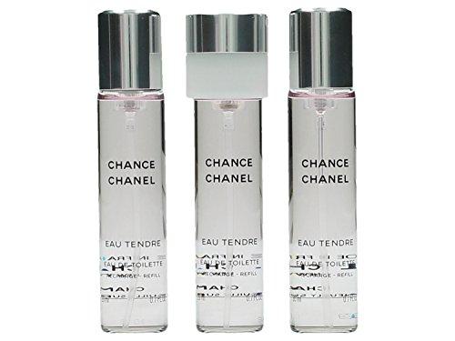 CHANEL P3N70002 Chance Eau Tendre Eau De Toilette-Set, Vaporisateur/Spray, 20 ml