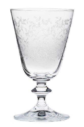 Bohemia Cristal 093 006 043 Weingläser ca. 260 ml aus Kristallglas 6er Set
