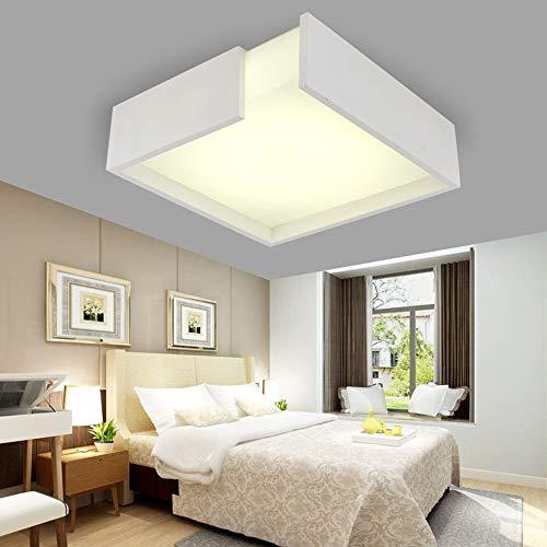 LED plafondlamp ruimte plafondlamp 3 kleuren dimbare creatieve plafondlamp werkkamer slaapkamer expositieruimte hotel logeerkamer L40CM×H12CM