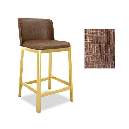Taburetes de Muebles de Entretenimiento-CJiaJ Taburete decorativo, silla de recepción Sillón Cómoda Duradera Caja de control Taburete de bar Taburete de hotel Silla del hotel ( Color : #6 )