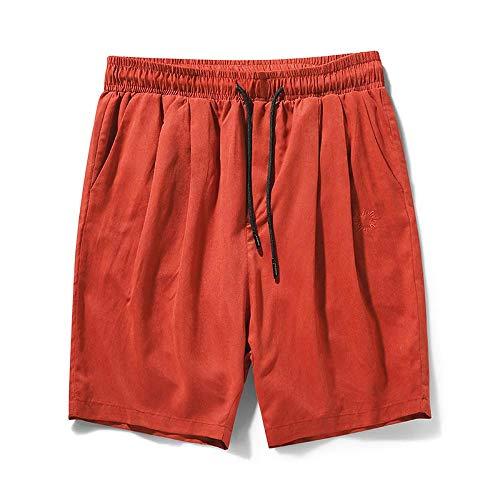 XK Strandshorts Herren Beach Shorts Badehose Casual Surf Beach Shorts Schnelltrocknende Boardshorts Casual Home Wear Pyjamas Hosen Beach Shorts D-M