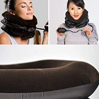 Cervical Air Neck Shoulder Inflatable Traction 3 Layers Vertebra Tractor Support