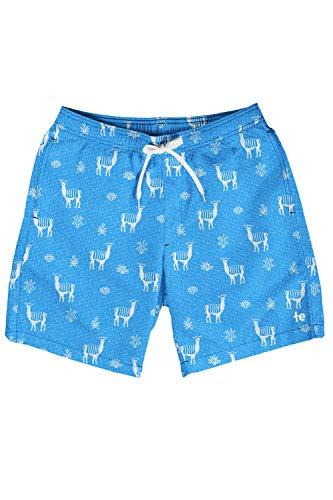 Tipsy Elves Men's Short Swim Trunks – Bright Neon Board Shorts for Vacation