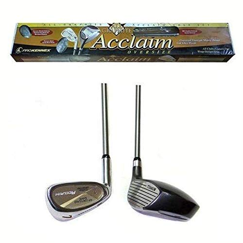 Prokennex Mens Acclaim Oversize Graphite Golf Clubs Left Handed