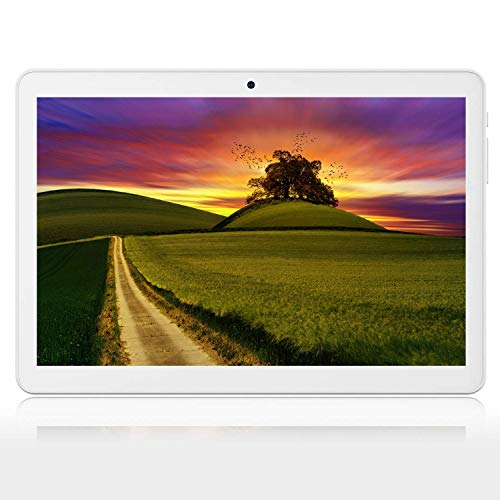 Tablet 10.1 inch Android 10.0,Tablet with 2GB+32GB, 3G Phone Tablets with Dual Sim Card & 2MP+ 5MP Dual Camera, Quad Core Processor, 1280x800 IPS HD Display,GPS, FM